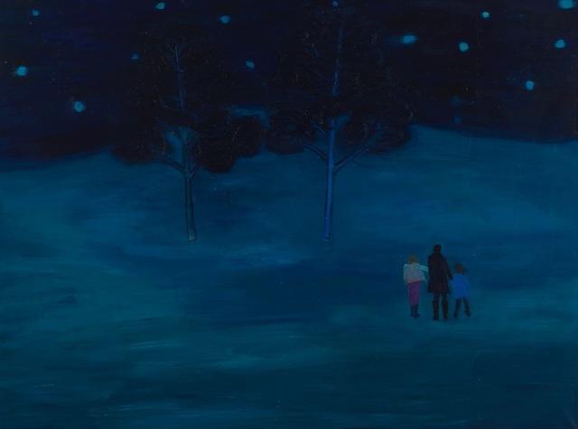 Tom Hammick, 'Night Walk', 2012, Painting, Oil on canvas., Lyndsey Ingram