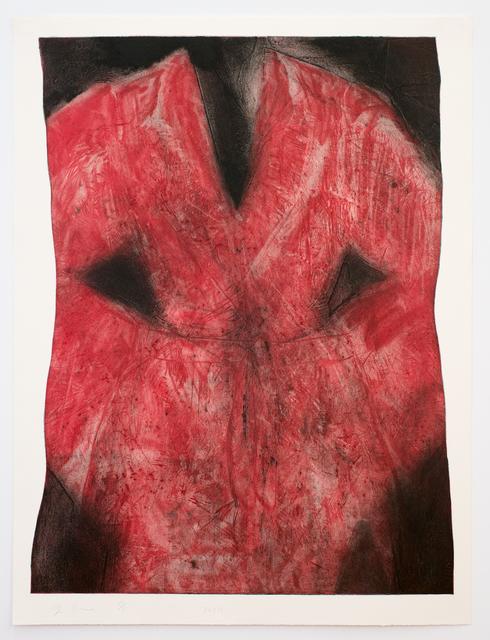 Jim Dine, 'Pink Robe', 2014, Cristea Roberts Gallery
