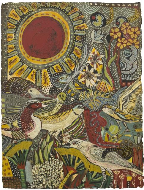 , 'Birds and Flowers,' 2017, Patricia Rovzar Gallery