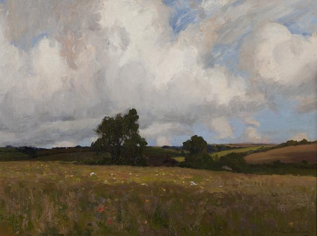 John Noble Barlow, 'Landscape', ca. 1890, Montclair Art Museum