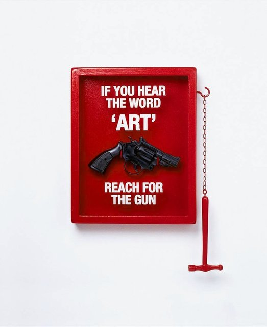 Nancy Fouts, 'If You Hear the Word 'Art' Reach for the Gun', 2011, Hang-Up Gallery