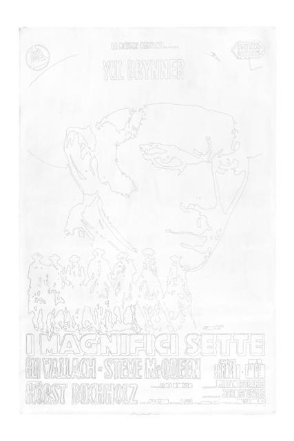 , 'I magnifici sette,' 2007, Galerie Chantal Crousel