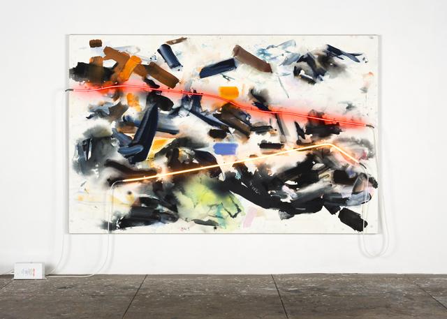 , 'the River,' 2015, David Kordansky Gallery