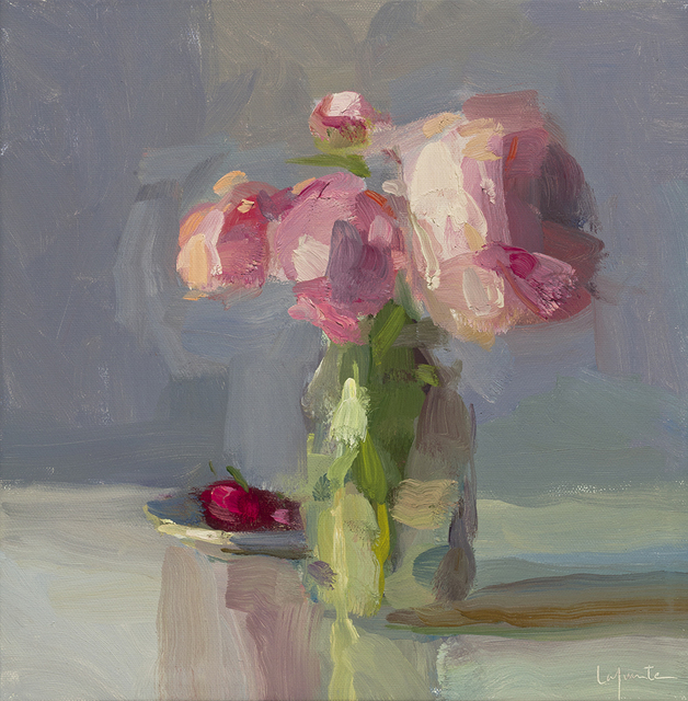 Christine Lafuente, 'Cherries and Peonies', 2017, Somerville Manning Gallery