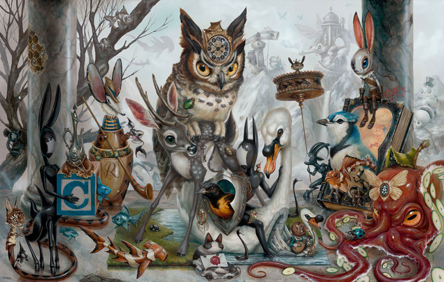 Greg 'Craola' Simkins, 'Let The Outside In', 2019, KP Projects