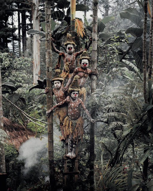 , 'XV 61 Gogine Boys Goroka, Eastern Highland Papua New Guinea - Goroka, Papua New Guinea,' 2010, WILLAS Contemporary