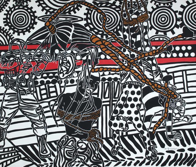 Boris Nzebo, 'Ashouka Ngagali', 2018, Jack Bell Gallery
