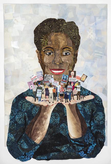 , 'Barbara Lee Speaks for Me,' 2018, Robert Mann Gallery