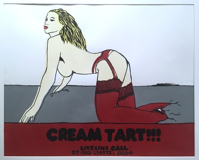 , 'Cream Tart,' 2019, Deep Space Gallery