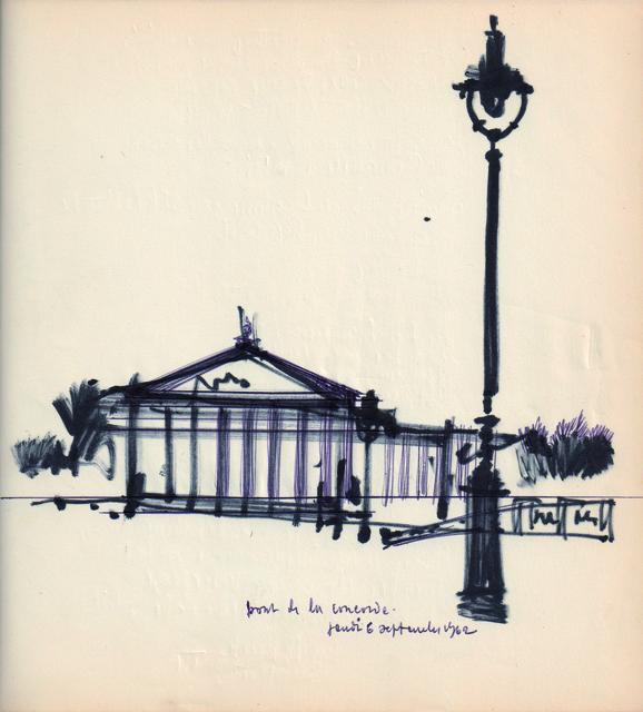 Lucien De Roeck, 'Paris', 1962, Musée d'Ixelles