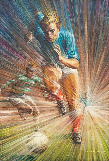 Vladimir Tretchikoff, 'Footballer', Strauss & Co