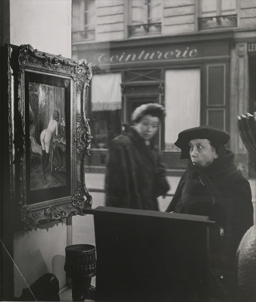 Robert Doisneau, 'Vitrine, Galerie Romi, Paris ,' 1948, Osborne Samuel