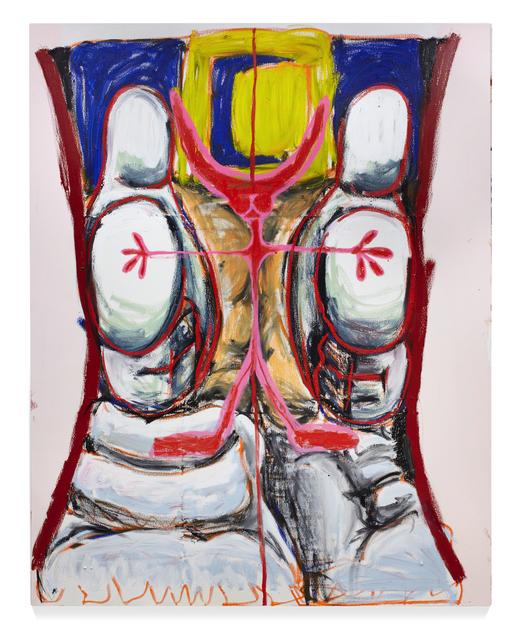, 'Times Squeeze Defensive,' 2017, Pilar Corrias Gallery