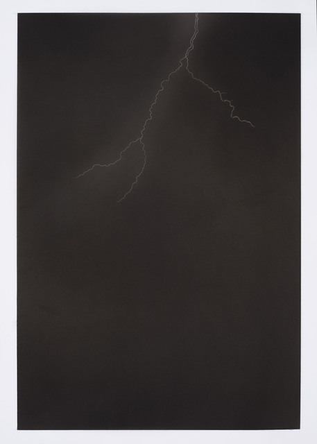 Ali Kazim, 'Untitled (Lightning series)', 2018, Painting, Pigments on mylar, Jhaveri Contemporary