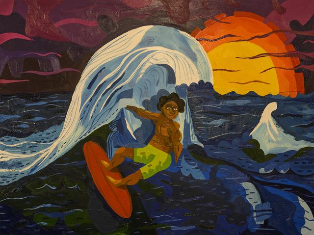Azikiwe Mohammed, 'Nick Gabaldon', 2019, Mindy Solomon Gallery