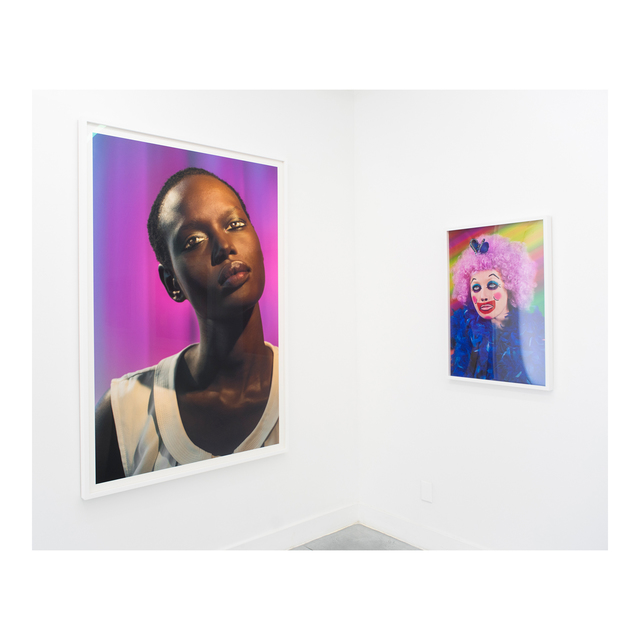 Laurie Simmons, 'How We See/Ajak (Violet)', 2015, Photography, Pigment print, Rubber Factory