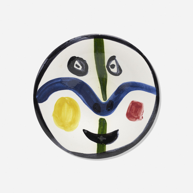 Pablo Picasso, 'Face No. 0', 1963, Design/Decorative Art, White earthenware clay, decoration in engobes and enamel under glaze, Rago/Wright