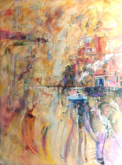 Ken Strong, 'Harbour Gathering of Mist', ca. 2017, Wentworth Galleries