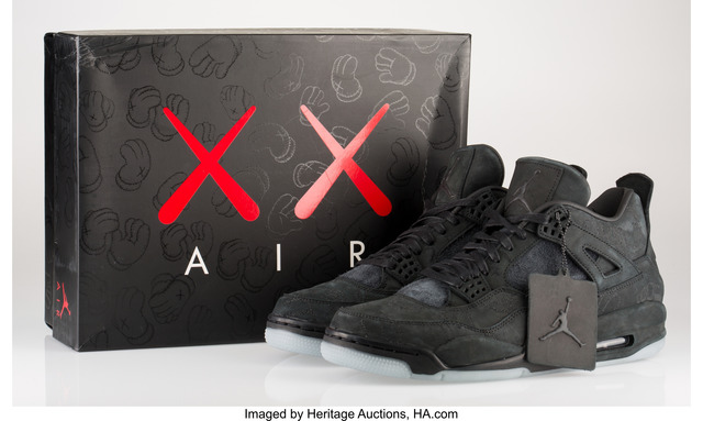 KAWS, 'Air Jordan 4', 2017, Heritage Auctions