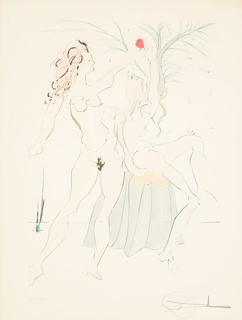 Salvador Dalí, 'Adam and Eve, Our Historical Heritage', 1975, Heritage Auctions