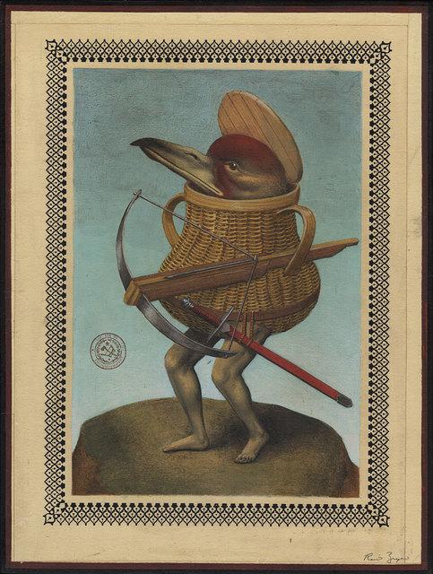 , 'Bird Basket Creature Crossbow,' 2017, Black Book Gallery