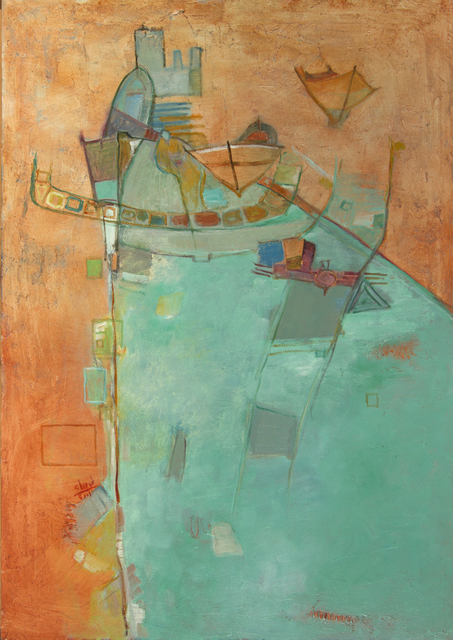 , 'Fisher's Boat,' 2001, Hafez Gallery