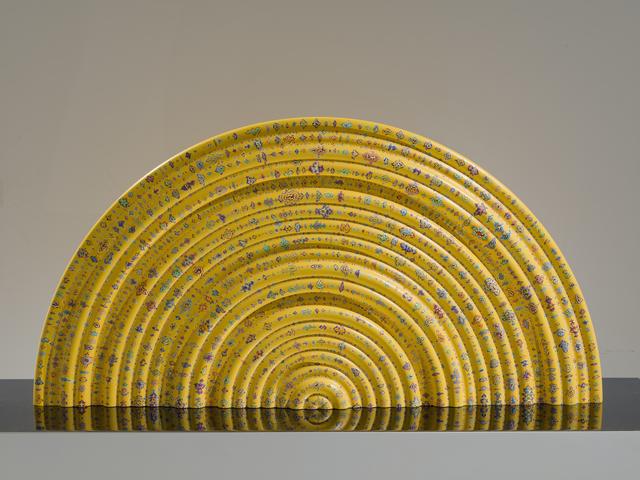 , 'Primary Waveform (half circle),' 2018, Quint Gallery