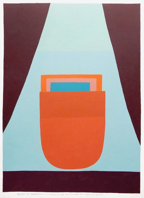 , 'basket of fabrics,' 2017, Uprise Art