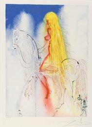 Lady Godiva, from Daliean Horses