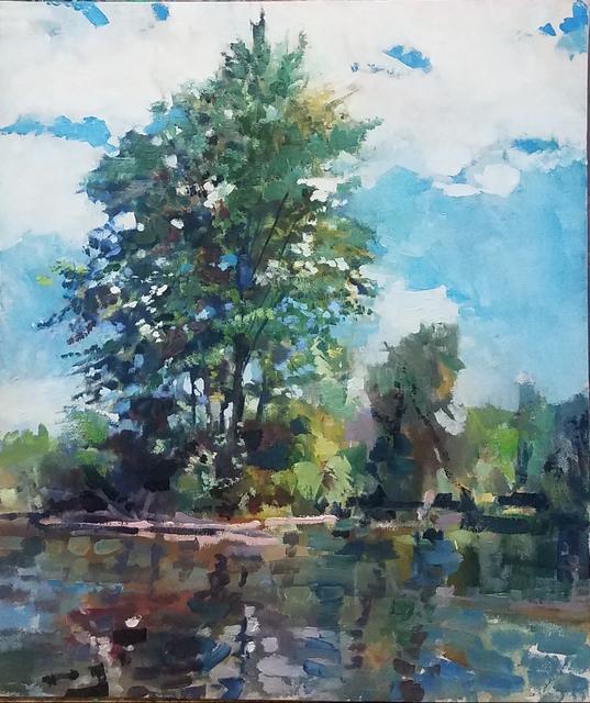 , 'Swan Creek,' , Water Street Gallery