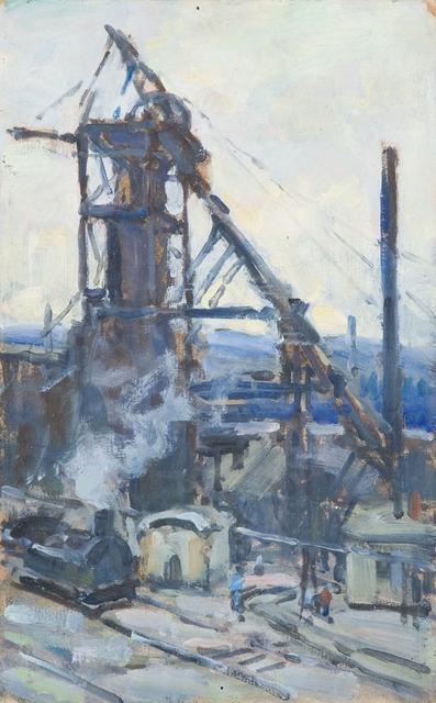 , 'Mining,' 1926-1933, Princeton University Art Museum