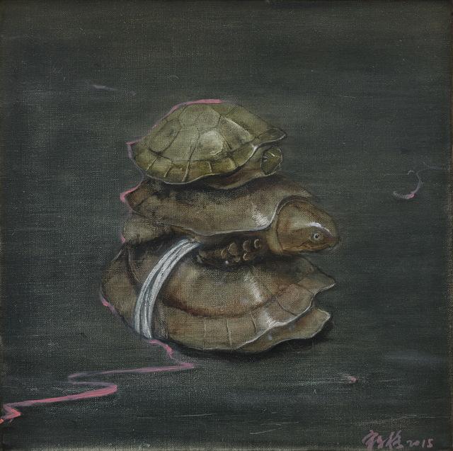 , 'Three Turtles,' 2015, Marlborough London