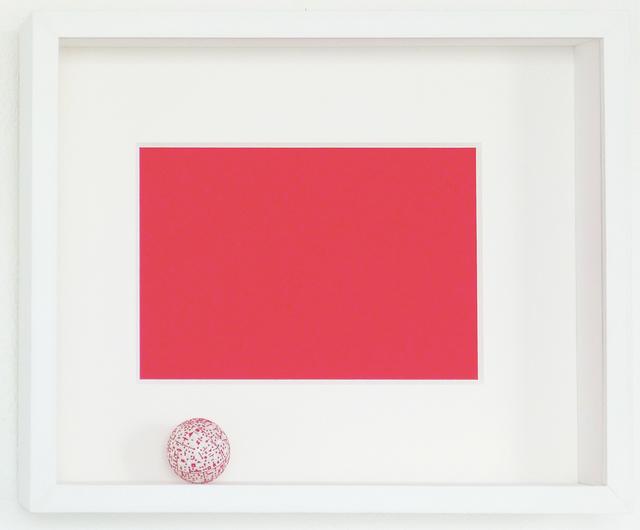 , 'Thesis (Red),' 2017, Galería del Paseo