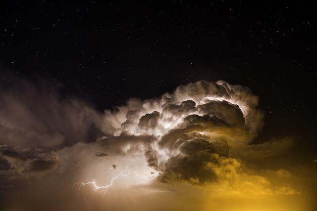 , 'Heat Lightning and Stars. Burlington, Colorado,' 2014, Bernarducci Meisel Gallery