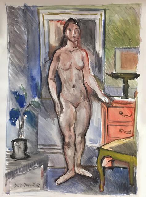 , 'Standing Nude,' 1951, Nikola Rukaj Gallery