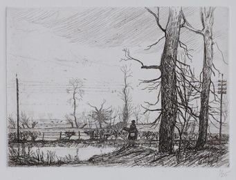 Winter landscape, Harefield