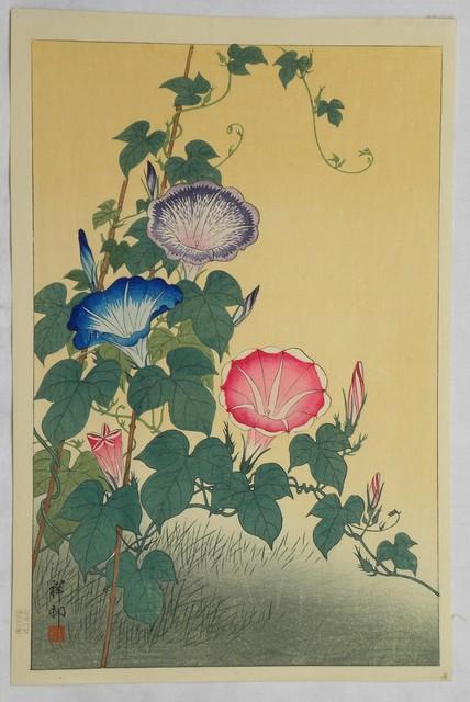 , 'Morning Glories in Full Bloom,' ca. 1931, Scholten Japanese Art