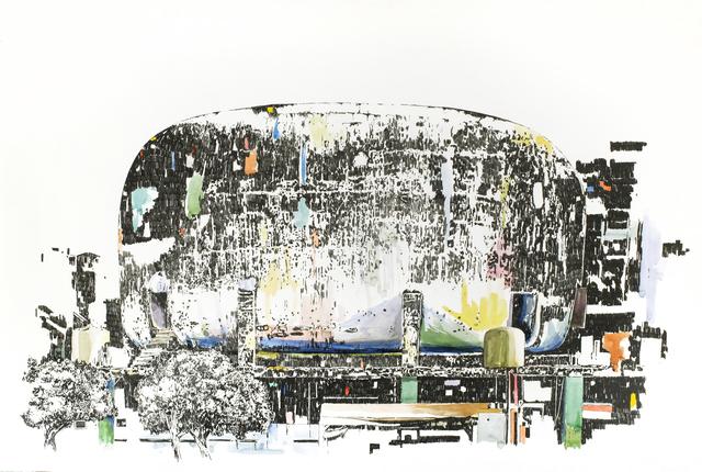 , 'Mémoire d'architecture, le songe de Beyrouth VII,' 2017, Gowen Contemporary