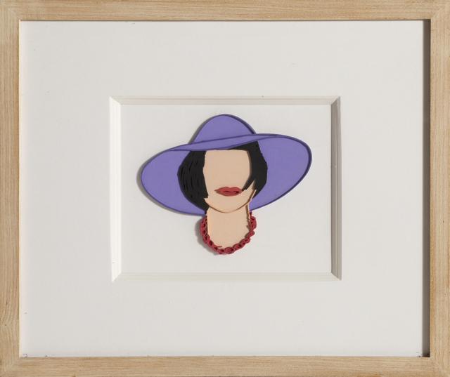 Tom Wesselmann, 'Monica with a Purple Hat', 1985, RoGallery