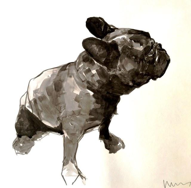 , 'French Bulldog (facing right),' 2015, Dog & Horse Fine Art