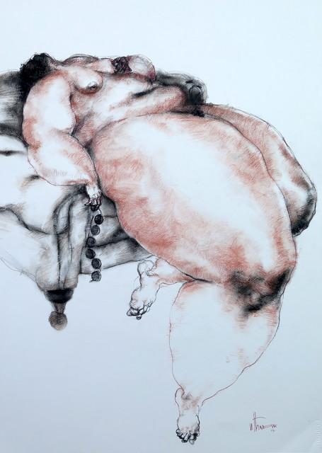 , 'Nude (beads),' 2017, Sapar Contemporary