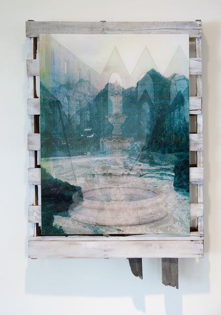 , 'China Mountains Abbey Ruin Fountain,' 2014, Klaus von Nichtssagend Gallery