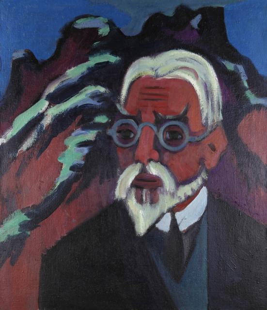 , 'Porträt Bosshart,' 1921, Henze & Ketterer