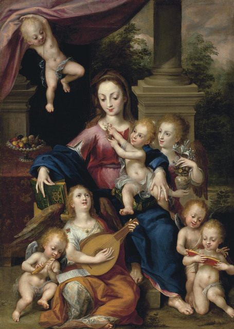 , 'The Virgin and Child with angels,' , Christie's Old Masters