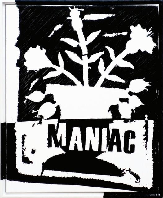 , 'Study For Maniac ,' 2016, V1 Gallery