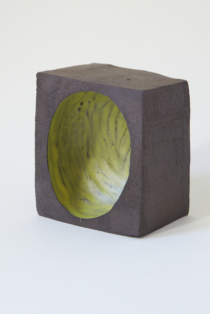 , 'Bowl 5. (yellow head in black),' 2017, Ani Molnár Gallery