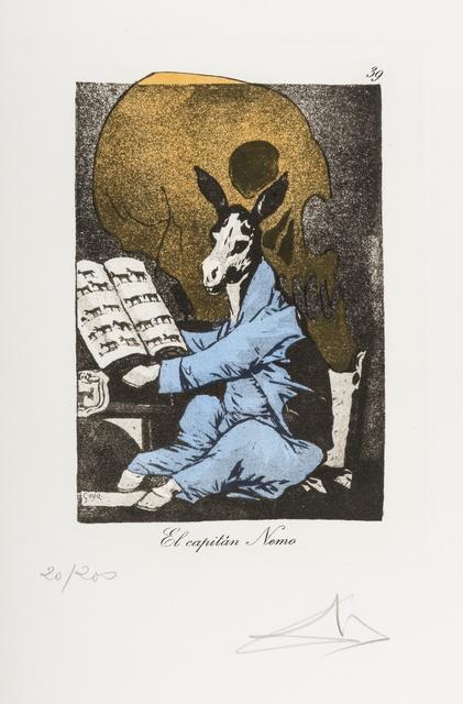 Salvador Dalí, 'Plate 39 (From Les Caprices de Goya de Dali) (M & L 886)', 1977, Forum Auctions