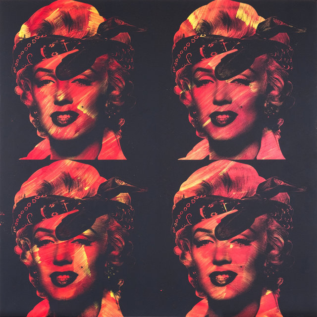 Knowledge Bennett, 'Good Girl Gone Bad (Marilyn 4 Times)', 2017, The Know Contemporary