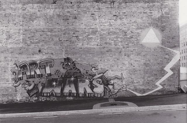 , 'Mayoral Drive. Jef & Rik,' 1985, Visions