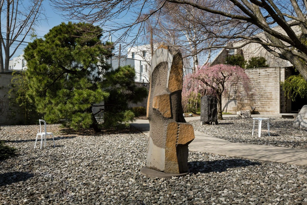 Installation view, 'Solid Doubts: Robert Stadler at The Noguchi Museum,' April 26 – September 3, 2017. The Noguchi Museum, Long Island City, NY. 